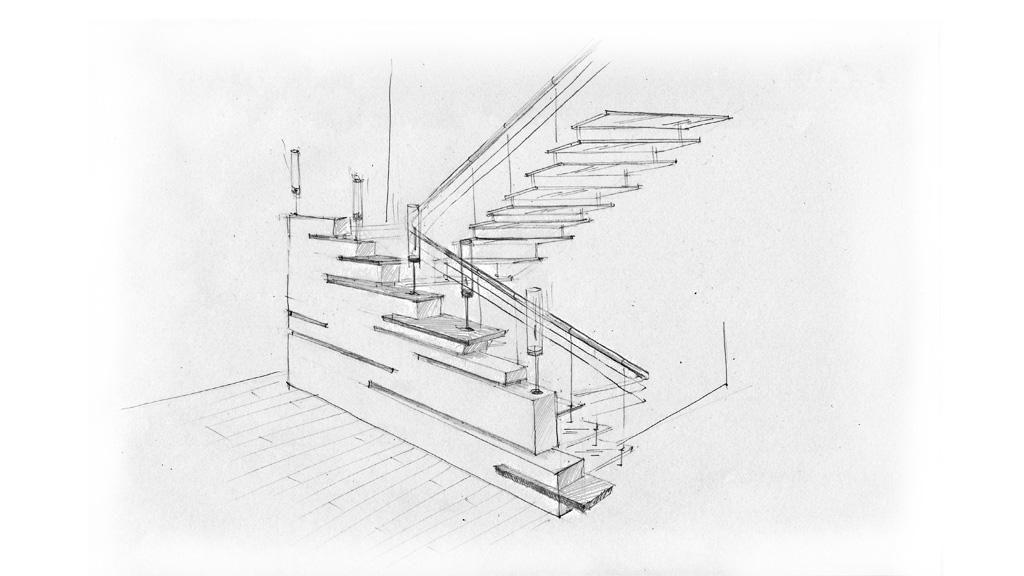 sketch-stair